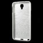 Gelové kartáčované pouzdro na Samsung Galaxy Note 3 Neo - bílé - 3/3