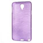 Gelové kartáčované pouzdro na Samsung Galaxy Note 3 Neo - fialové - 3/5