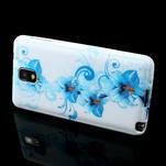 Gelové pouzdro na Samsung Galaxy Note 3- modrá lilie - 3/6