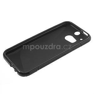 Gelové S-line pouzdro pro HTC one M8- černé - 3