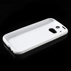 Gelové S-line pouzdro pro HTC one M8- bílé - 3
