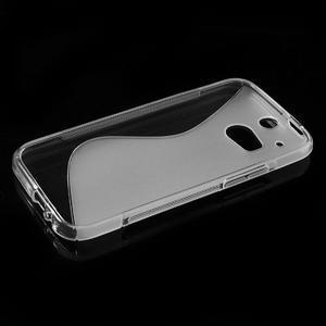 Gelové S-line pouzdro pro HTC one M8- transparentní - 3