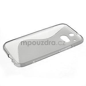 Gelové S-line pouzdro pro HTC one M8- šedé - 3