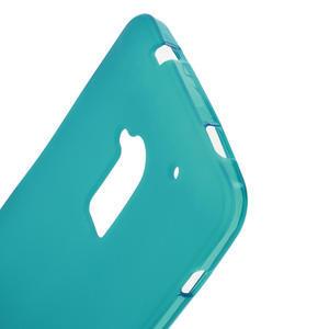 Gelové matné pouzdro pro HTC one Max- světlemodré - 3