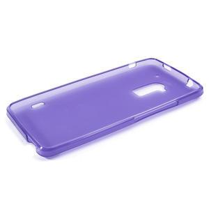 Gelové matné pouzdro pro HTC one Max- fialové - 3