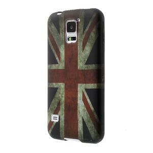 Gelové pouzdro na Samsung Galaxy S5- UK vlajka - 3