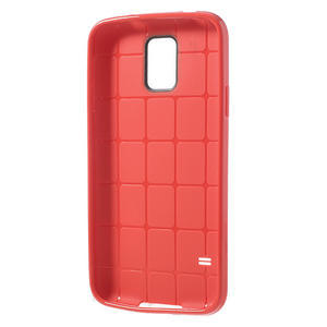 Gelové pouzdro na Samsung Galaxy S5- červené - 3
