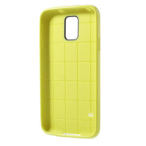 Gelové pouzdro na Samsung Galaxy S5- žluté - 3
