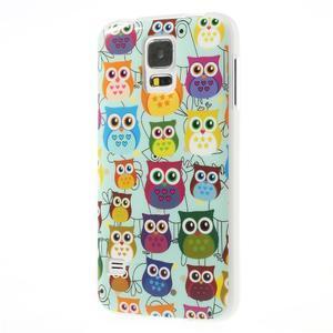 Gelové pouzdro na Samsung Galaxy S5 sovy - 3