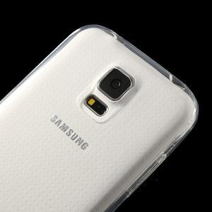 Gelové ultraslim pouzdro na Samsung Galaxy S5- transparentní - 3