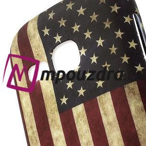 Gelové pouzdro na Samsung Galaxy Young S6310- USA vlajka - 3