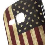 Gelové pouzdro na Samsung Galaxy Young S6310- USA vlajka - 3/5