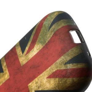 Gelové pouzdro na Samsung Galaxy Young S6310- UK vlajka - 3