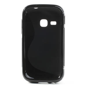 Gelové S-line pouzdro na Samsung Galaxy Young S6310- černé - 3