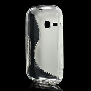 Gelové S-line pouzdro na Samsung Galaxy Young S6310- transparentní - 3