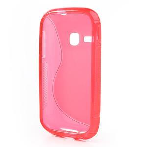 Gelové S-line pouzdro na Samsung Galaxy Young S6310- růžové - 3