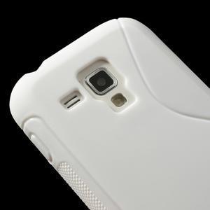 Gelové S-line pouzdro pro Samsung Trend plus, S duos- bílé - 3