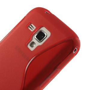 Gelové S-line pouzdro pro Samsung Trend plus, S duos- červené - 3
