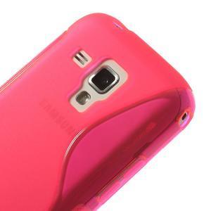 Gelové S-line pouzdro pro Samsung Trend plus, S duos- růžové - 3