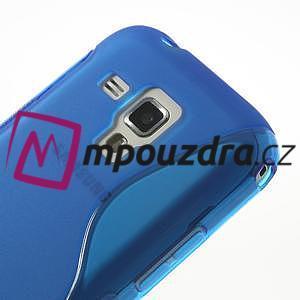 Gelové S-line pouzdro pro Samsung Trend plus, S duos- modré - 3