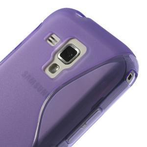 Gelové S-line pouzdro pro Samsung Trend plus, S duos- fialové - 3