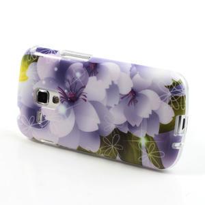 Gelové pouzdro na Samsung Galaxy Trend, Duos- elegantní květ - 3