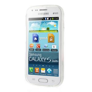 Gelové pouzdro na Samsung Trend plus, S duos - třpytivé - 3