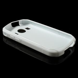 Gelové S-line pouzdro na Samsung Galaxy Xcover 2 S7710- bílé - 3
