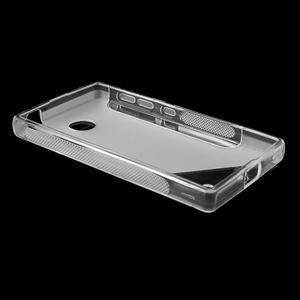 Gelové S-line pouzdro na Nokia X dual- transparentní - 3