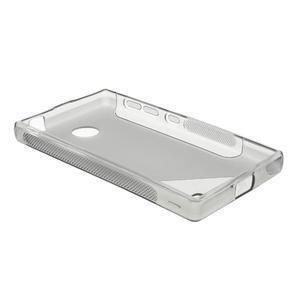 Gelové S-line pouzdro na Nokia X dual- šedé - 3