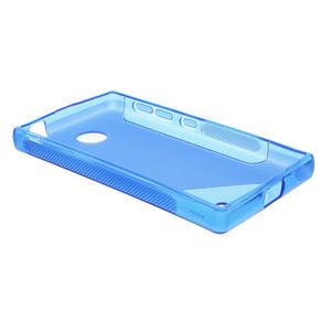 Gelové S-line pouzdro na Nokia X dual- modré - 3