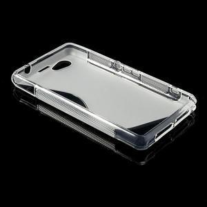 Gelové S-line pouzdro na Sony Xperia Z1 Compact D5503- transparentní - 3