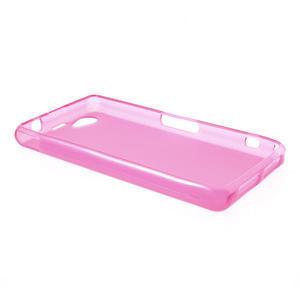 Gelové matné pouzdro na Sony Xperia Z1 Compact D5503- růžové - 3