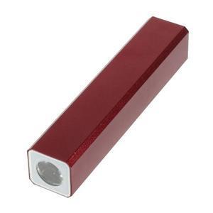 GTX kovová externí nabíječka 2 600 mAh - červená - 3