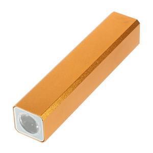GTX kovová externí nabíječka 2 600 mAh - oranžová - 3