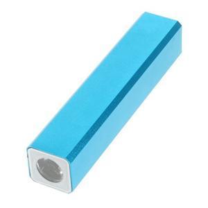 GTX kovová externí nabíječka 2 600 mAh - modrá - 3