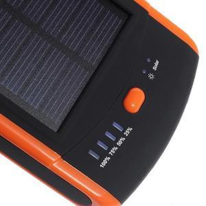 CEX solární externí nabíječka 6 000 mAh - oranžová - 3