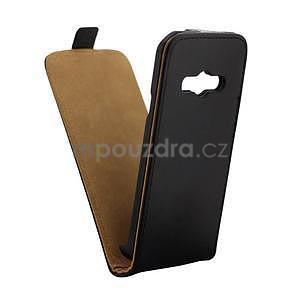 Flipové pouzdro na Samsung Galaxy Xcover 3 - černé - 3