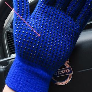 GX protiskluzové rukavice - modré - 3