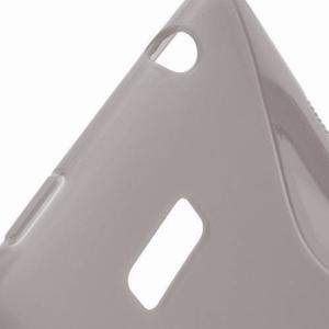 Gelové S-line pouzdro pro HTC Desire 600- šedé - 3