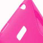 Gelové S-line pouzdro pro HTC Desire 600- růžové - 3/6