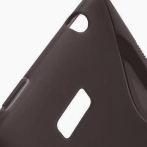 Gelové S-line pouzdro pro HTC Desire 600- černé - 3