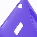Gelové S-line pouzdro pro HTC Desire 600- fialové - 3/6