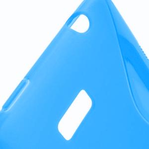 Gelové S-line pouzdro pro HTC Desire 600- modré - 3