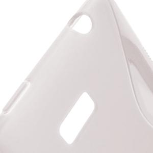 Gelové S-line pouzdro pro HTC Desire 600- transparentní - 3