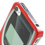 Telefon plastové pouzdro na iPhone 4 4S - 3/5