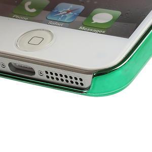 Kovové pouzdro pro iPhone 5, 5s- zelený rámeček - 3