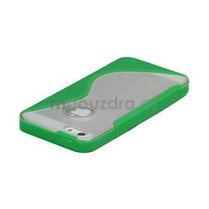 S-line hybrid pouzdro pro iPhone 5, 5s- zelené - 3