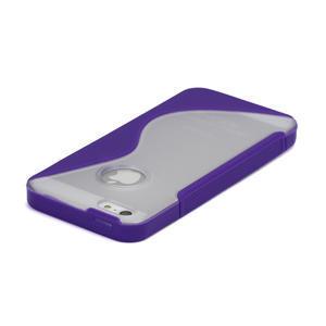 S-line hybrid pouzdro pro iPhone 5, 5s- fialové - 3