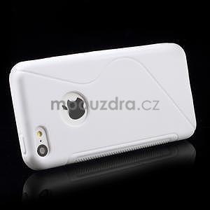 Gelové S-line pouzdro pro iPhone 5C- bílé - 3